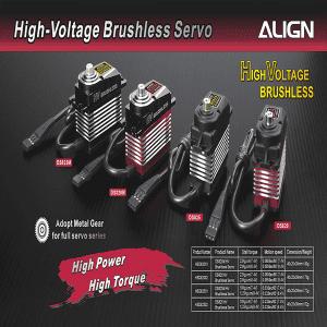 Align Digtal Brushless Servos