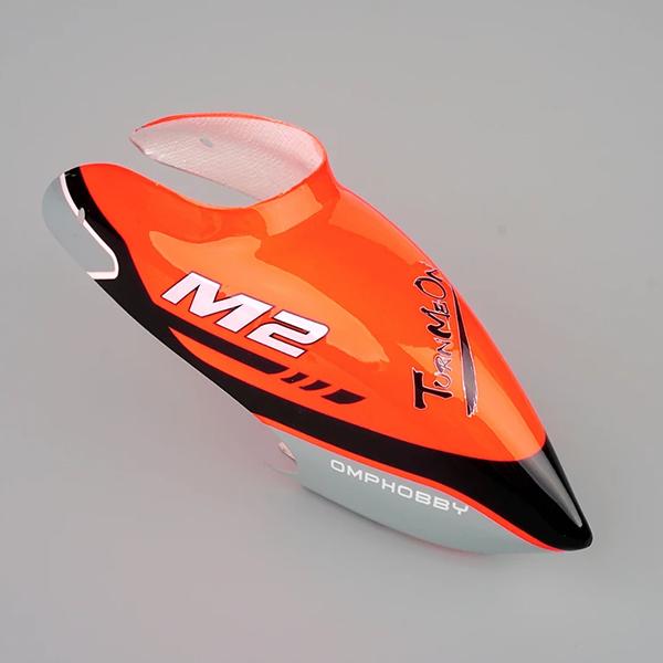 OMPHOBBY (M2 3D) Helicopter Canopy – Orange  OSHM2103
