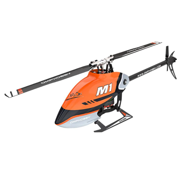 OMPHobby M1 RC Helicopter (Orange) POSHM1-O (FHSS Version)