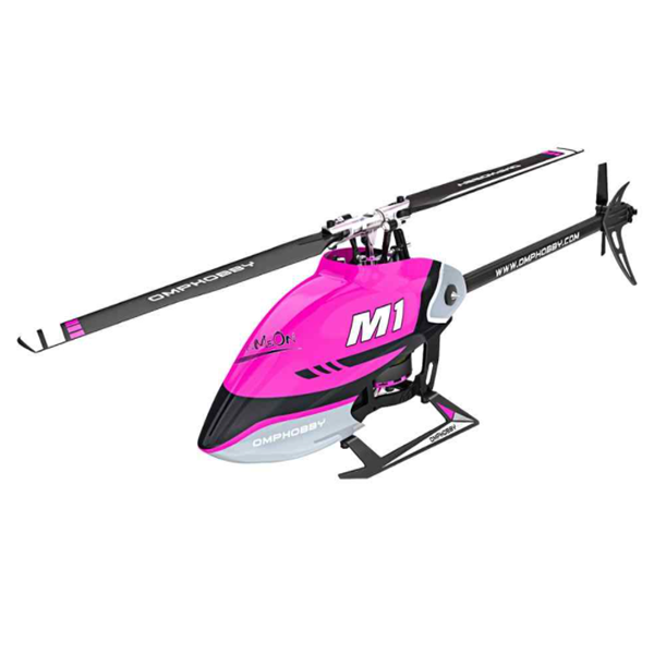 OMPHobby M1 RC Helicopter (Purple) POSHM1-P (OMP Version / Hex tools not included)