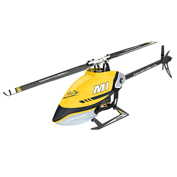 OMPHobby M1 RC Helicopter (FHSS Protocol Version)- Yellow POMP-M1-FHSS-Y