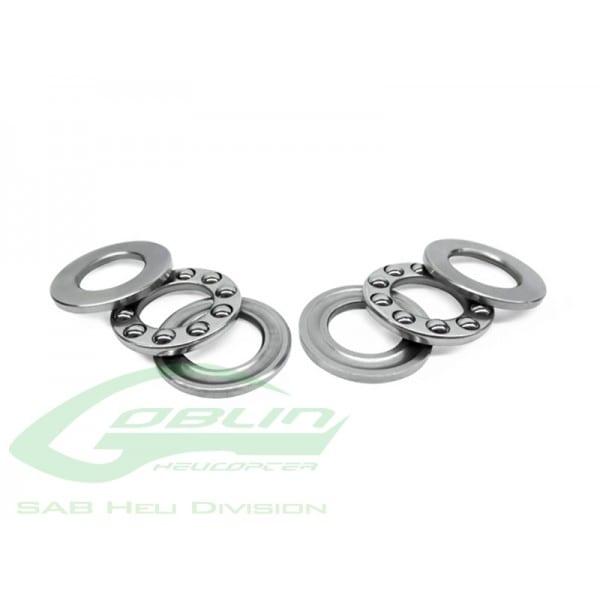 SAB ABEC-5 Thrust bearing C4 x C9 x 4(2pcs) - Goblin 500/570 HC434-S