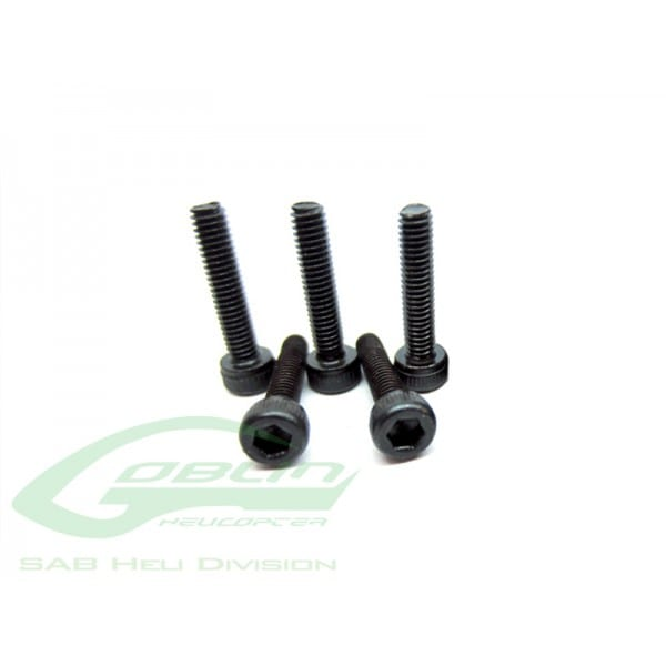 SAB DIN 12.9 Socket Head Cap M2,5x10 (5pcs) - Goblin 500/570 [HC022-S]