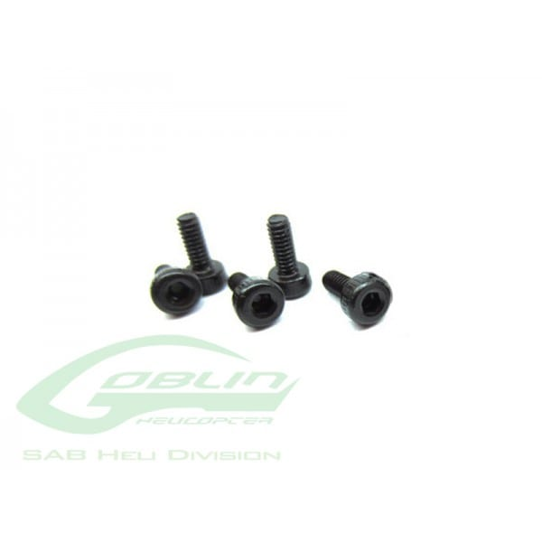 DIN 12.9 Socket Head Cap M2x6 (5pcs) - Goblin 500/570/630/700/770 [HC004-S]