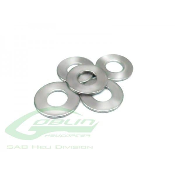 SAB Washer C4,3 x C11 x 1(5pcs) - Goblin 500/570 HC184-S