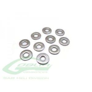 SAB Washer C2,5 x C4 x 0,3(10pcs) - Goblin 500/570 [HC172-S]