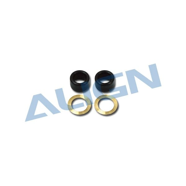 Align Trex 450 HS1291 V2 New Damper Rubber/Black 80