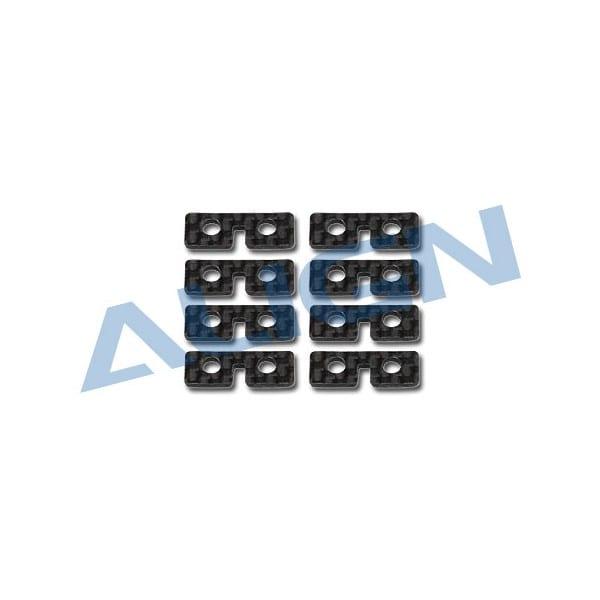 Align Trex 550/ 600/700 Series H60074A Carbon Servo Plate Carbon Servo Plate
