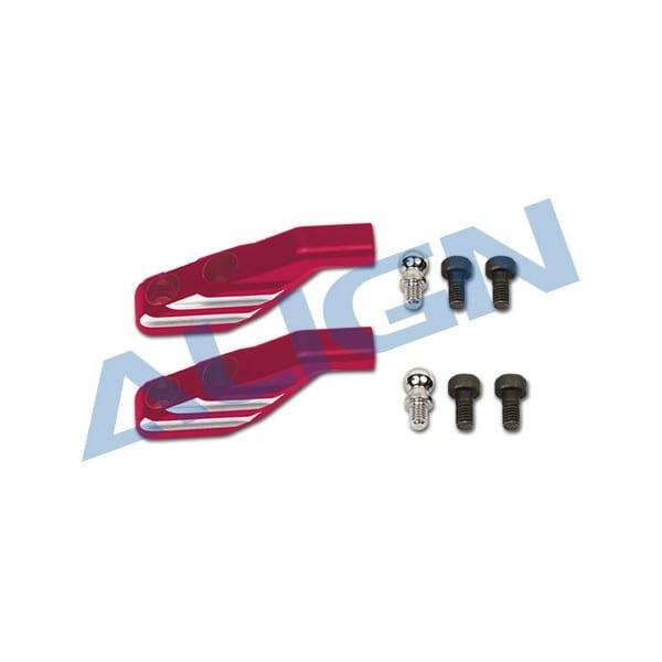 Align Trex 600EFL Pro H60232QR Metal Main Rotor Holder Arm-Red