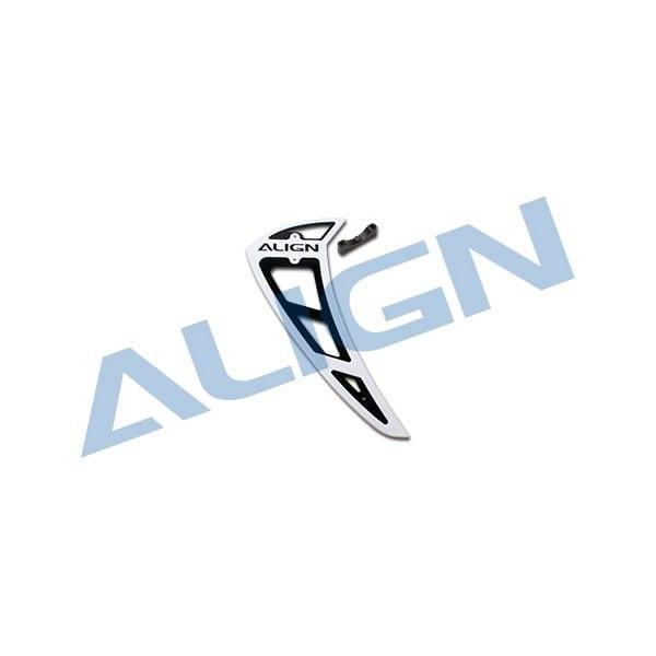 Align Trex 800E/700E H80T014XX PRO Vertical Stabilizer-White