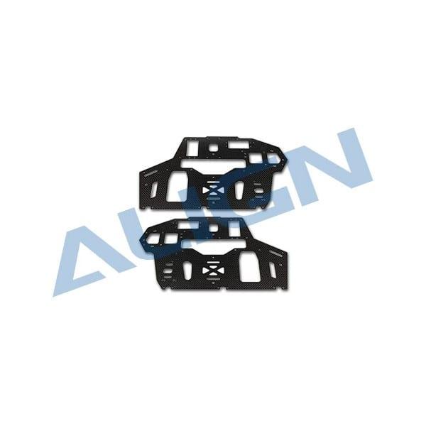 Align Trex 550 Pro H55B003XX Carbon Fiber Main Frame-2.0mm
