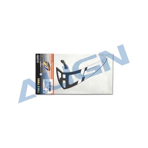 Align Trex 700E H70T007XX Carbon Vertical Stabilizer-White