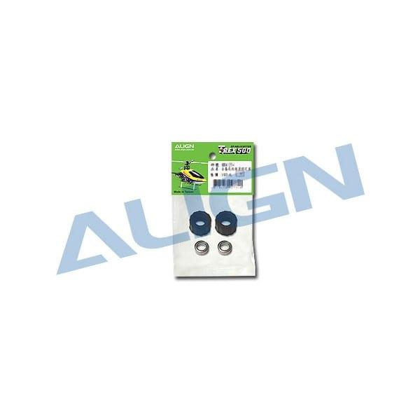 Align Trex 500E H50098 Torque Tube Bearing Holder Set