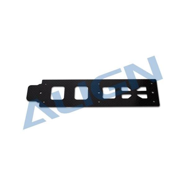 Align Trex 500L H50B004XX Carbon Bottom Plate/1.6mm