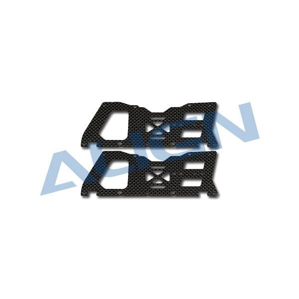 Align Trex 450 H45148 Sport V2 Carbon Main Frame(L) set
