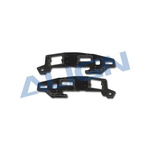 Align Trex 450 H45147 Sport V2 Carbon Main Frame(U) set