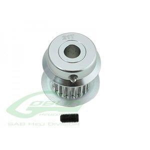 SAB Goblin 380 Aluminum Motor Pulley 21T H0501-21-S