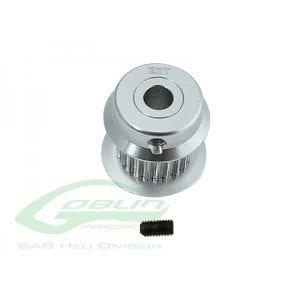SAB Goblin 380 Aluminum Motor Pulley 22T H0501-22-S