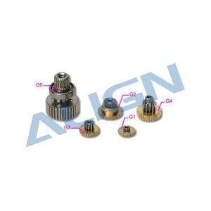 Align SER771 (DS525) Servo Gear Set HSP52501
