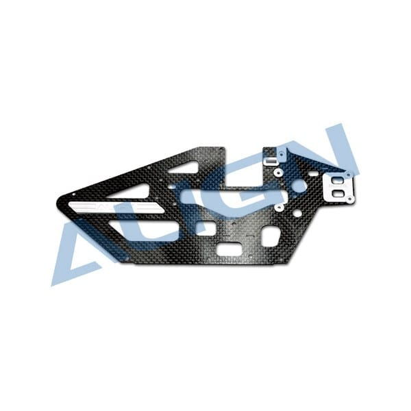 Align Trex 450L H45B001XX Carbon Fiber Main Frame (L)-1.2mm
