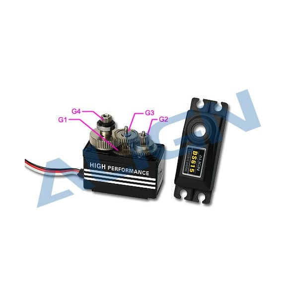 Align SER780 (DS615) Servo Gear Set HSP61501