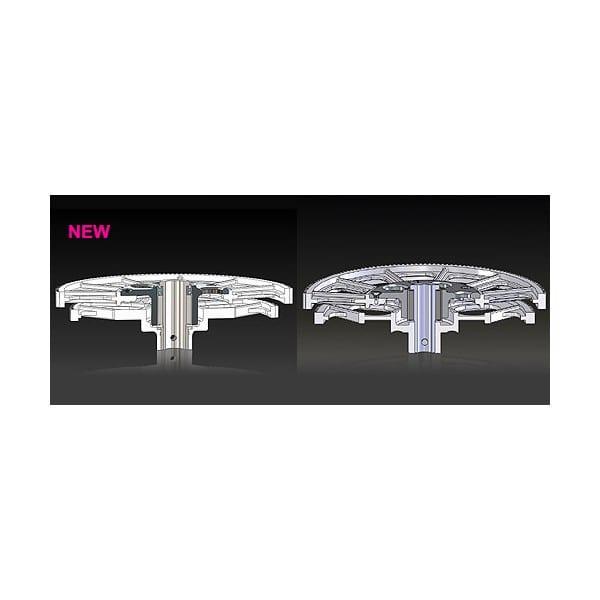 Align Trex 600 HN6064BA Main Gear Case Set-Black