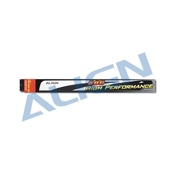 Align Trex 800 HD800A 800 Carbon Fiber Blades