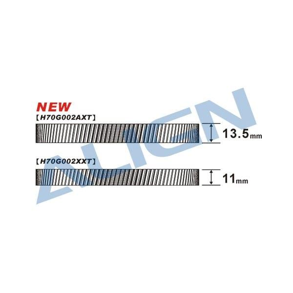 Align Trex 700E/800E CNC Slant Thread Main Drive Gear/ 112T H70G002AX