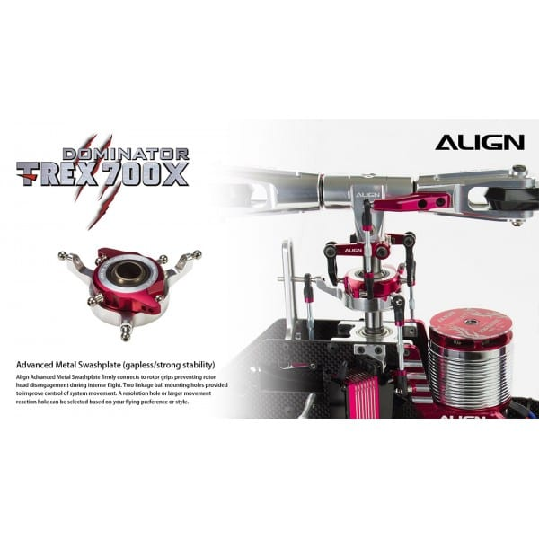 Align Trex 700X Super Combo w/Microbeast Helicopter Kit RH70E23X