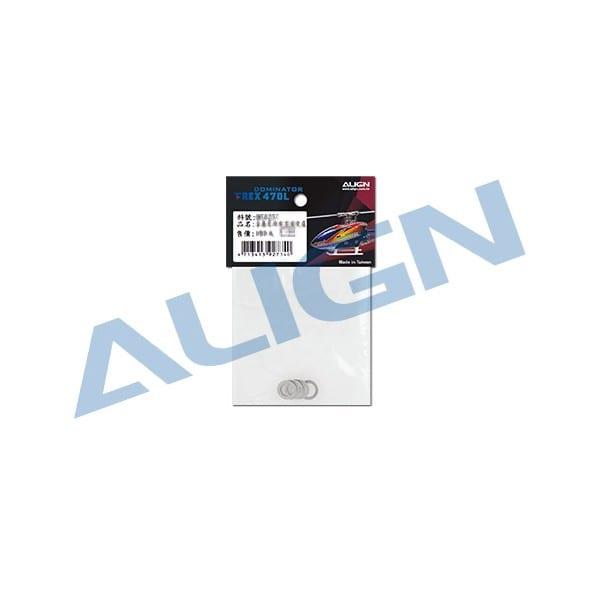 Align Trex 470L Main Shaft Spacer H47H007XX