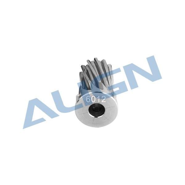 Align Trex 700E/ 700X Motor Slant Thread Pinion Gear 12T (L27) H70G010XX