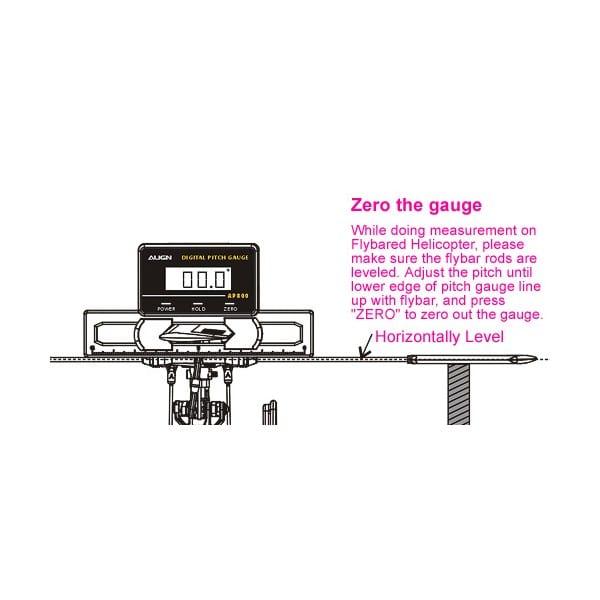 Align AP800 Digital Pitch Gauge HET80001