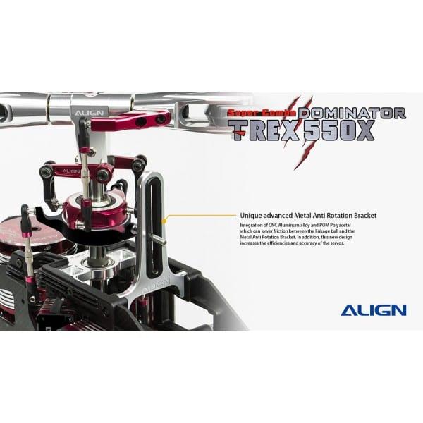 Align Trex 550X Dominator Super Combo /w Microbeast PLUS RH55E18X