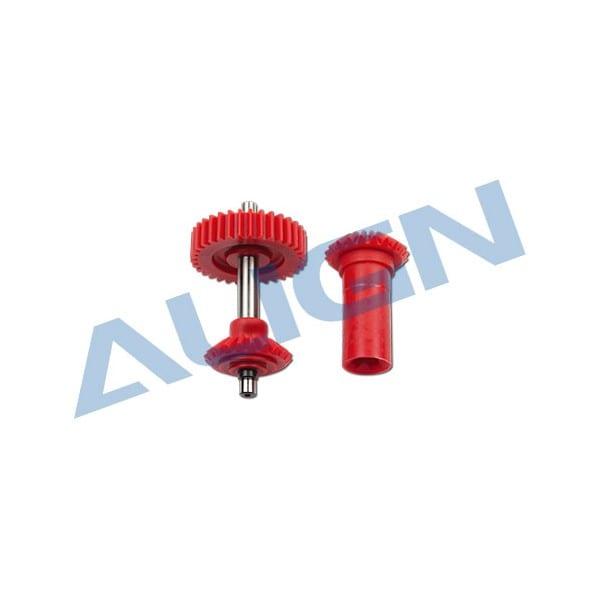 Align Trex 600N/550 M0.6 Torque Tube Front Drive Gear Set Gear Set/40T H6NG001AX