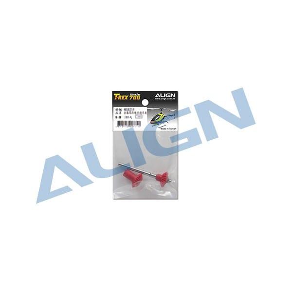 Align Trex 700/800 Torque Tube Rear Drive Gear Set HN7042B