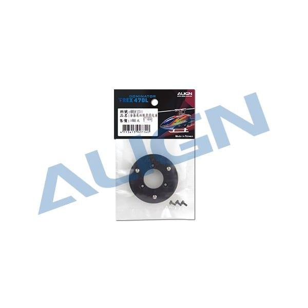 Align Trex 470L Plastic Yaw Mount Belt Pulley Assembly 56T H47G004XX