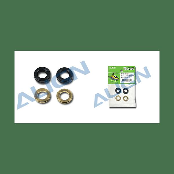 Align Trex 500E H50022 Damper Rubber/Black 80