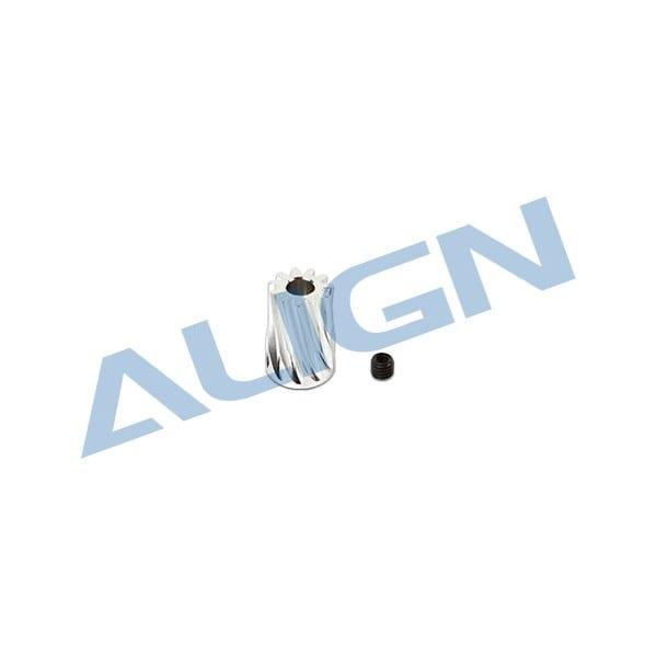 Align Trex 450/ 470L Motor Slant Thread Pinion Gear 11T H45160A
