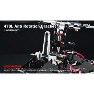 Align Trex 470L Metal Anti Rotation Breacket H47B008XX