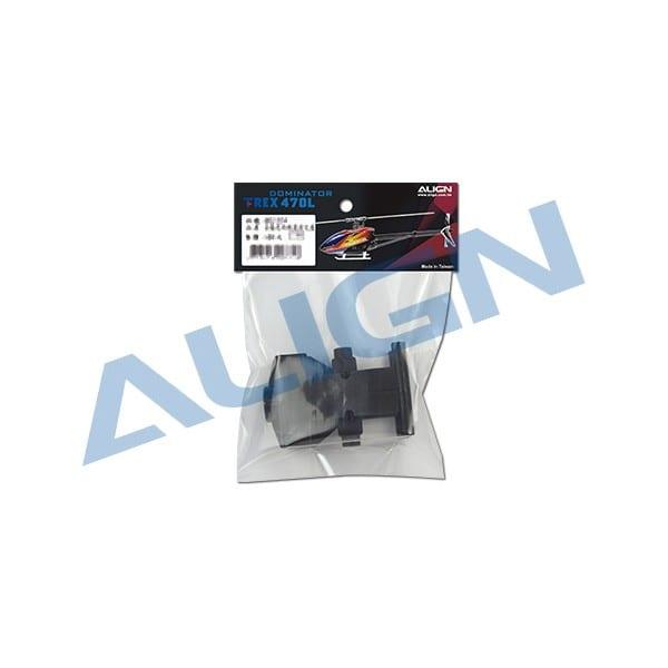Align Trex 470L Tail Boom Mount Set H47T011XX (Belt Version)