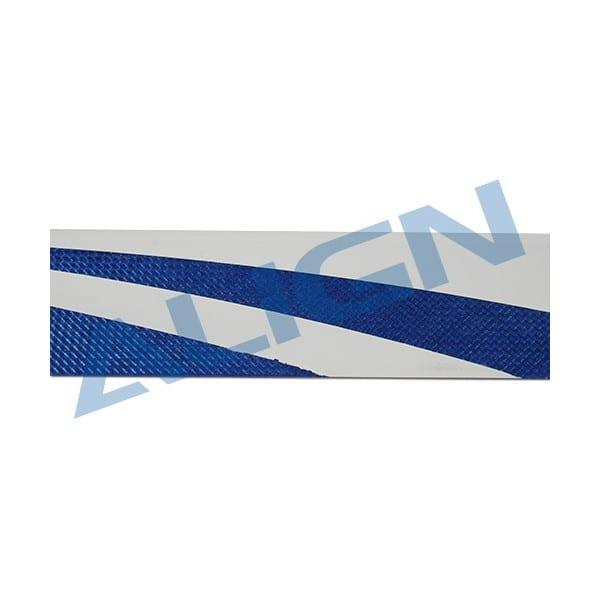Align 425 Carbon Fiber Blades- Blue (B) HD420GQCB For Trex 500