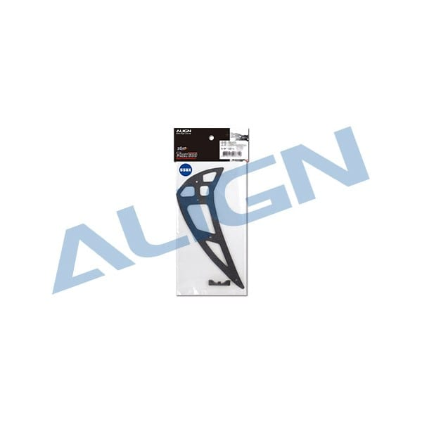 Align Trex 550X Carbon Fiber Vertical Stabilizer H55T006XX