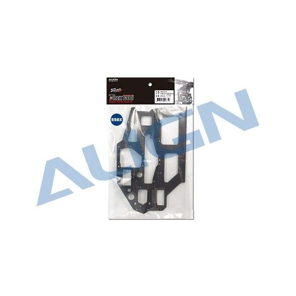 Align Trex 550X / 550L Carbon Main Frame (R) H55B005AX
