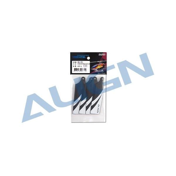 Align Trex 470L (74) Tail Blade HQ0743A