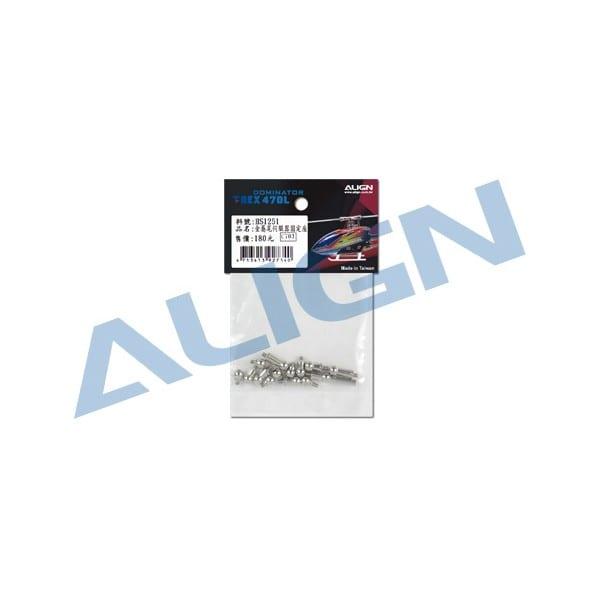Align Trex 470LM Linkage Ball Set H47Z001XX