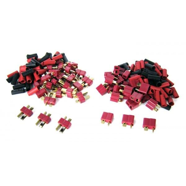 Deans -Type Connectors (25) Male, (25 )Female DEANS-25M-25F