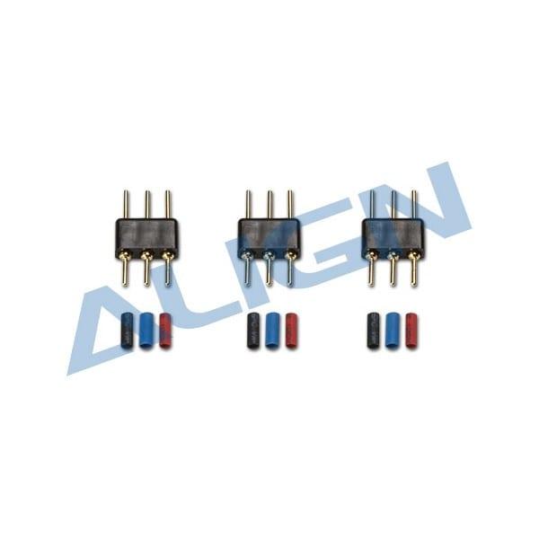 Align Trex 150 Motor Plug & Pin Set- HMP15M01