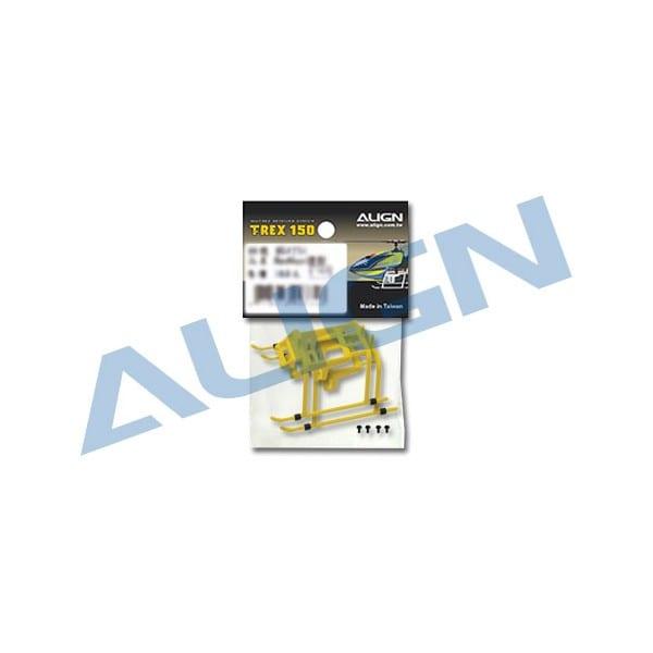 Align Trex 150 Landing Skid Yellow H15F001XE