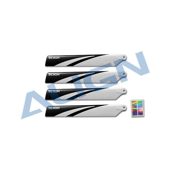 Align Trex 150 Main Blade -White HD123BB