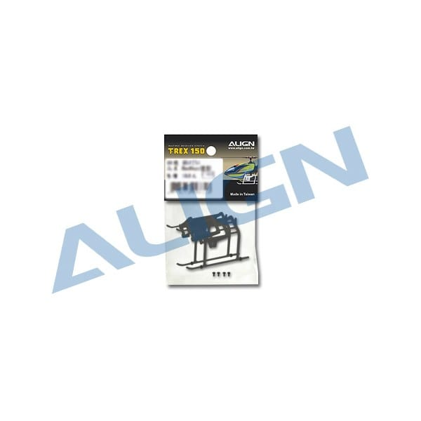 Align Trex 150 Landing Skid - Black H15F001XA
